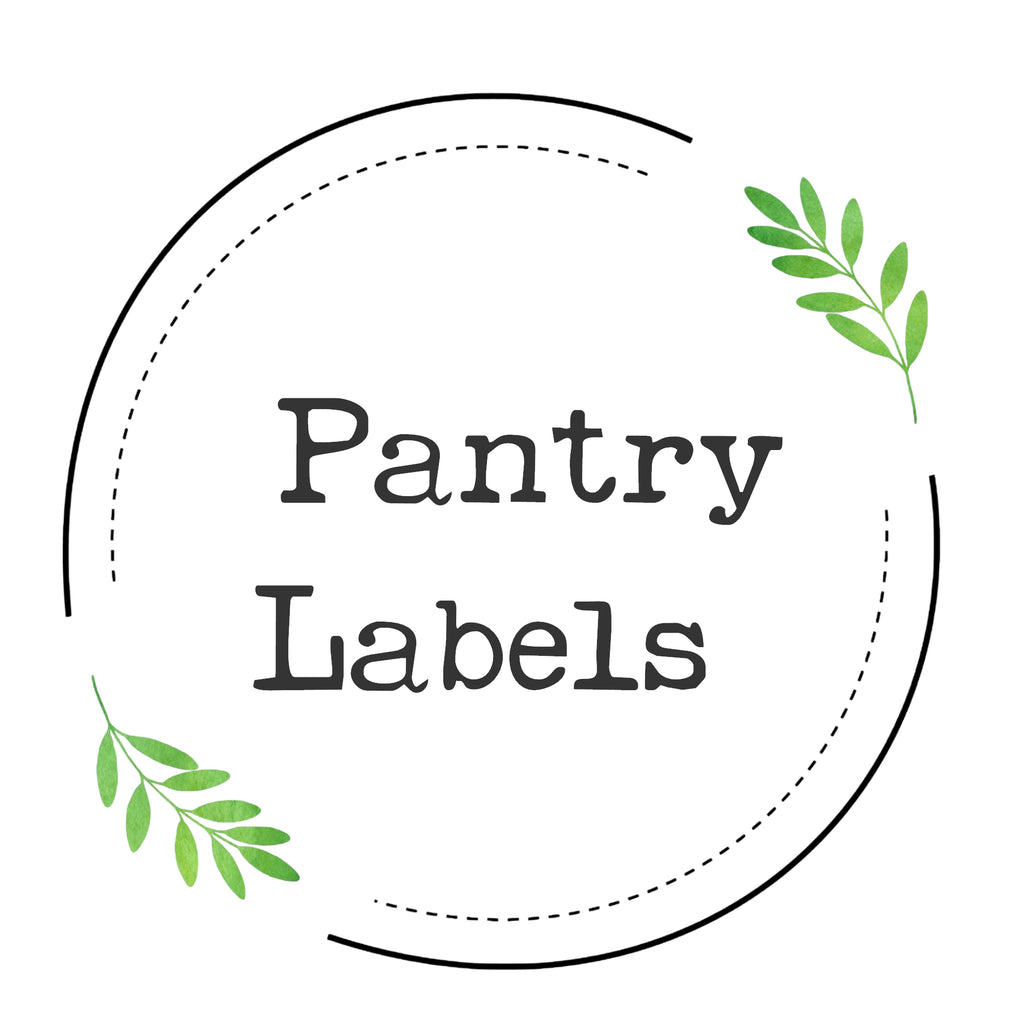 Pantry Labels