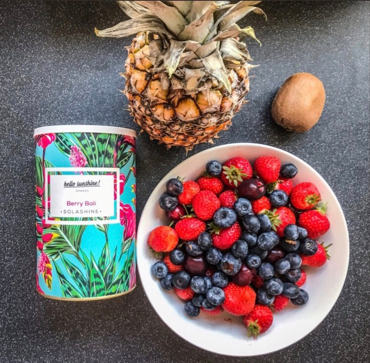 Berry Bali Sculpt and Tone Whey Protein Shake