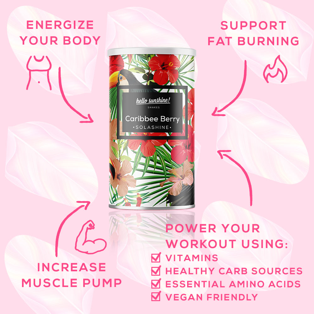 Caribbee Berry Vegan Workout Booster