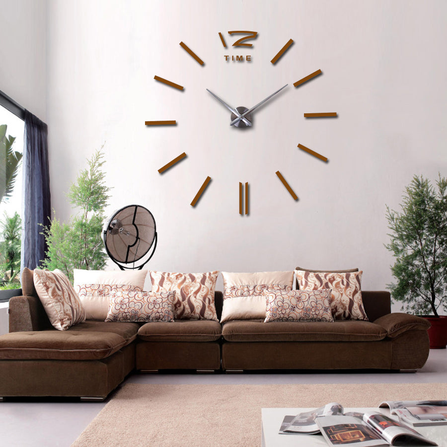 Big wall clock for living room – CanvasHomeArts