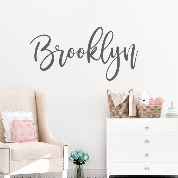 Girl Name Decals