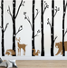 Forest Wall Decals, Birch Tree Wall Decal DB458