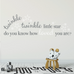 Twinkle Twinkle Little Star Wall Quote Decal DB323