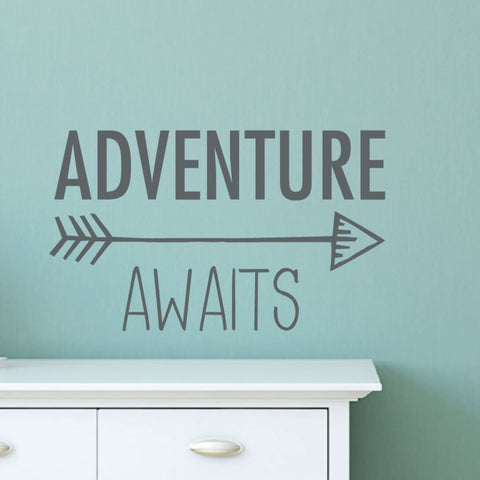 Adventure Awaits Wall Decal Db427