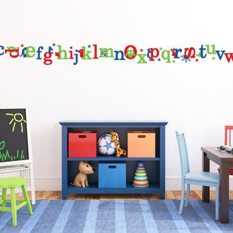 Alphabet Letter Wall Decals Db176