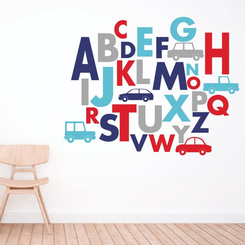 Alphabet Wall Decals 354