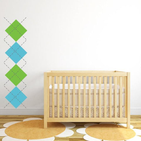 Argyle Wall Decals Db300