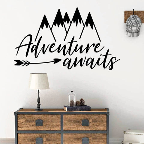 Arrow Wall Decal, Playroom Wall Decal RB111