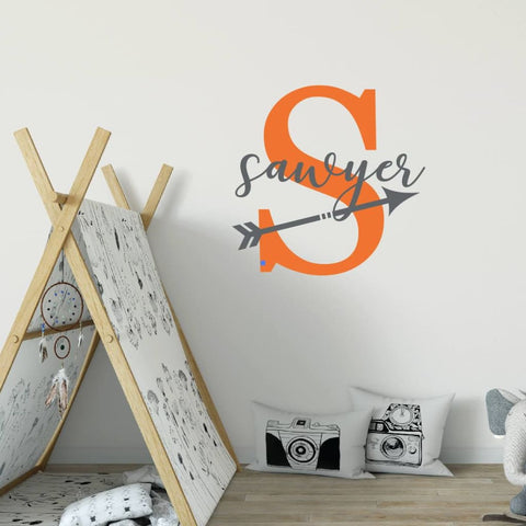 Arrow Wall Decor Arrow Name Decal Db425