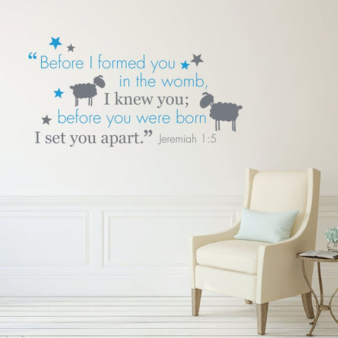 Baby Bible Quote Db164