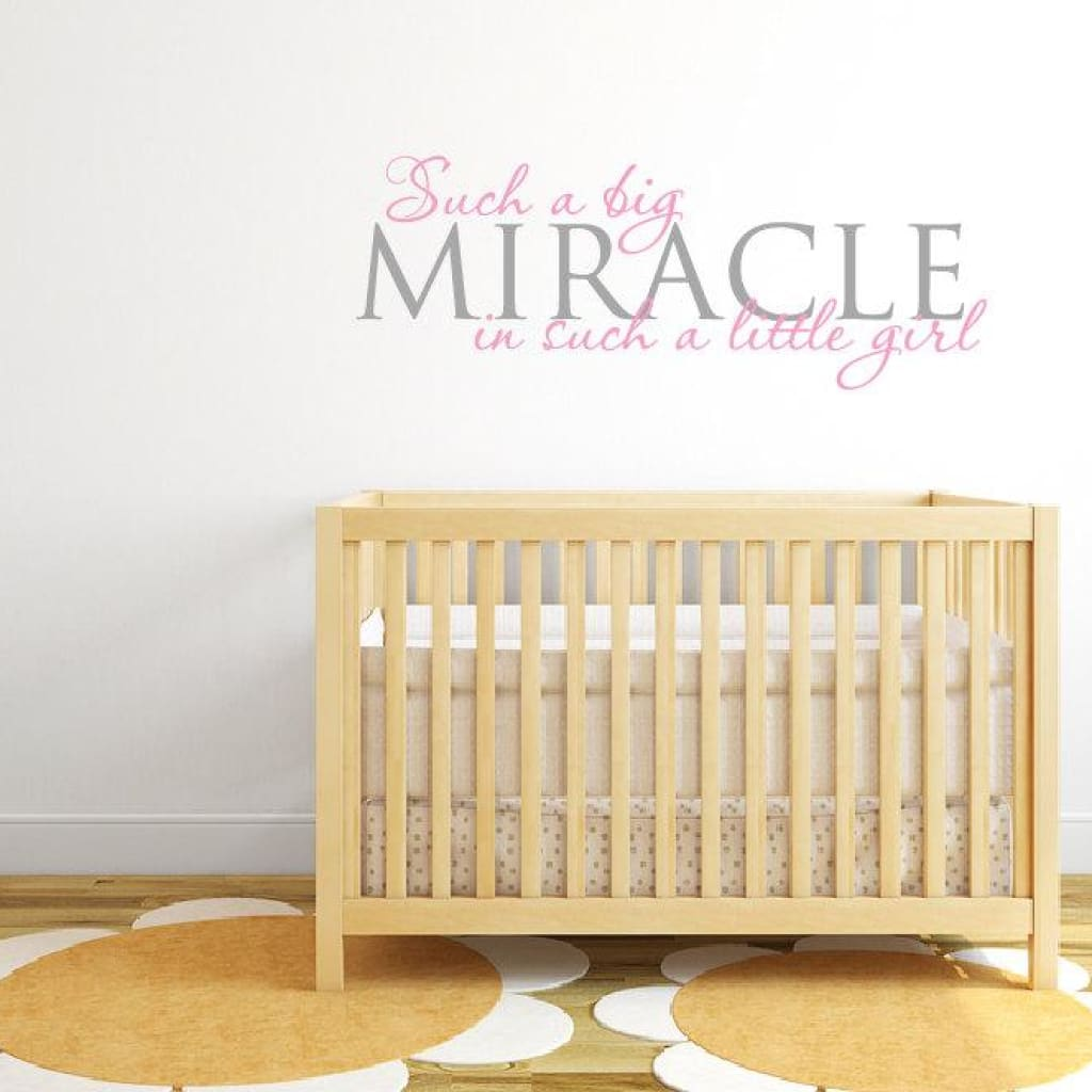 Baby Girl Wall Decal Db221