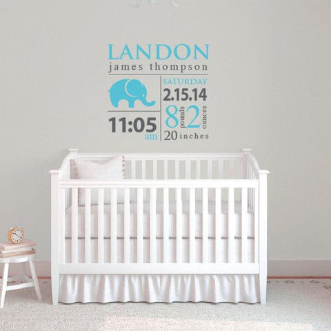 Baby Wall Decals Db302