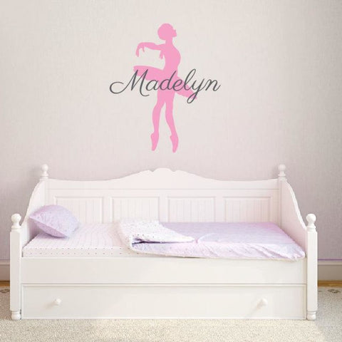 Ballerina Name Decals 312