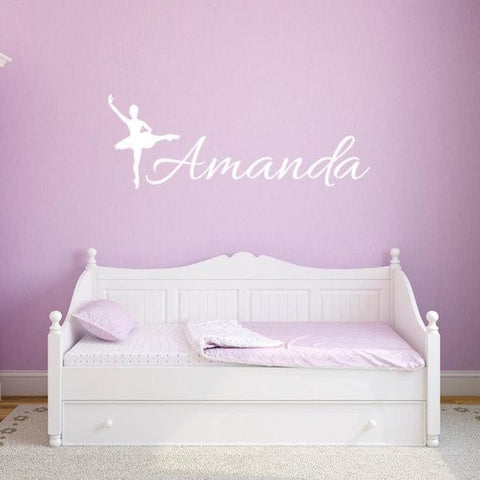 Ballerina Wall Decals Db122