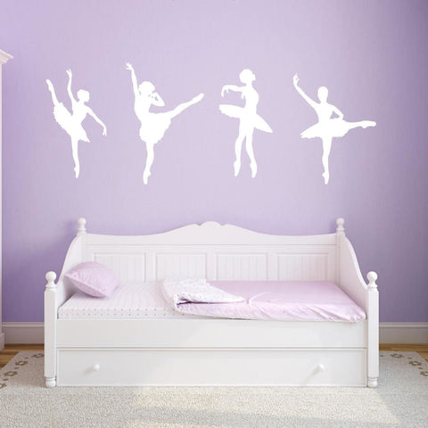 Ballerina Wall Decals Db210