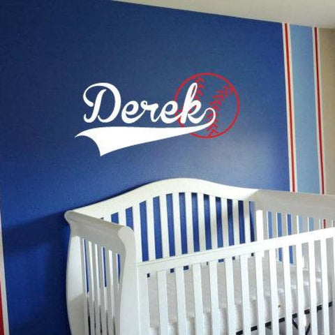 Baseball Wall Decals 199