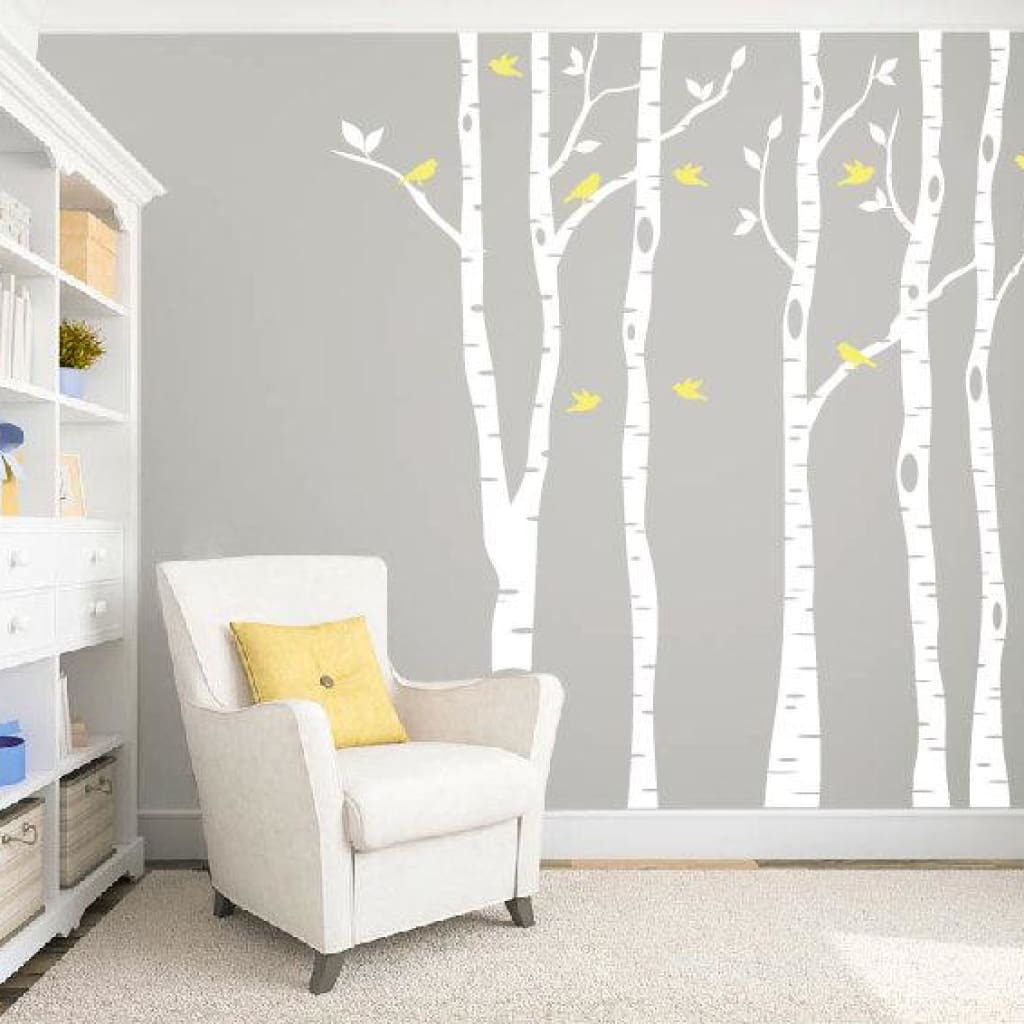 Birch Tree Wall Decal Db334