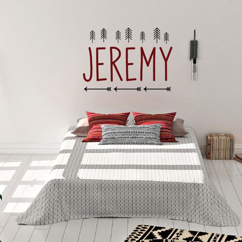 Boys Personalized Wall Decals B446