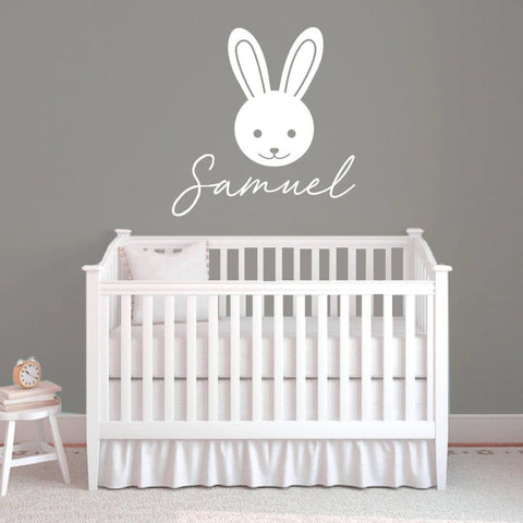 Bunny Nursery Wall Decor Rb110