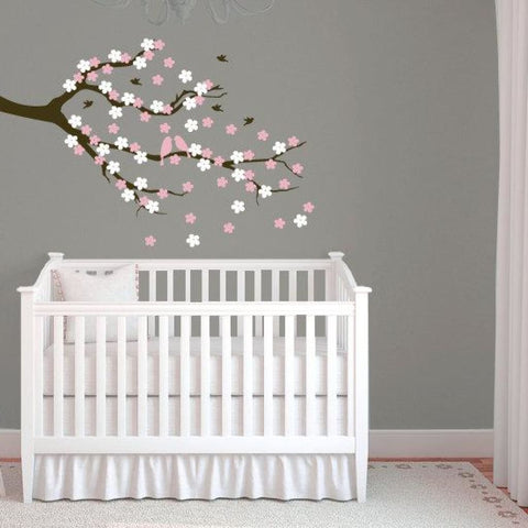Cherry Blossom Tree Branch Wall Decal Db316
