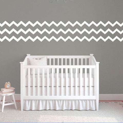Chevron Wall Pattern Decal Db333
