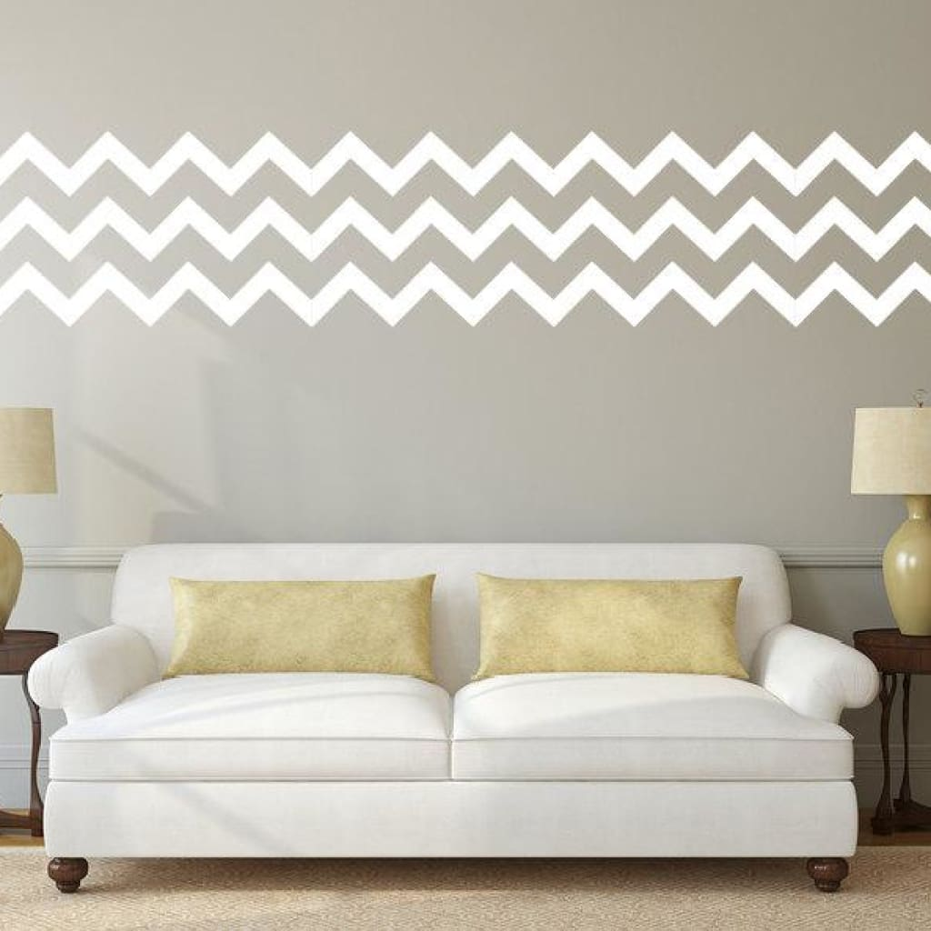 Chevron Wall Pattern Decal For The Home Db333