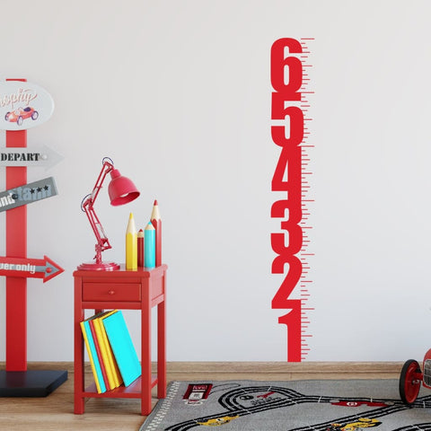 Childrens Growth Chart Wall Decal 256