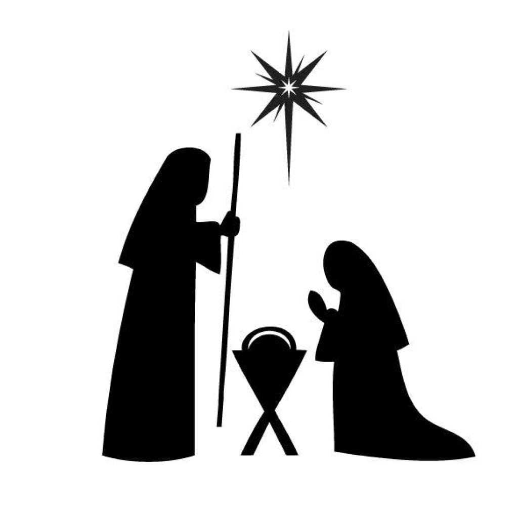Christmas Nativity Decal Db361