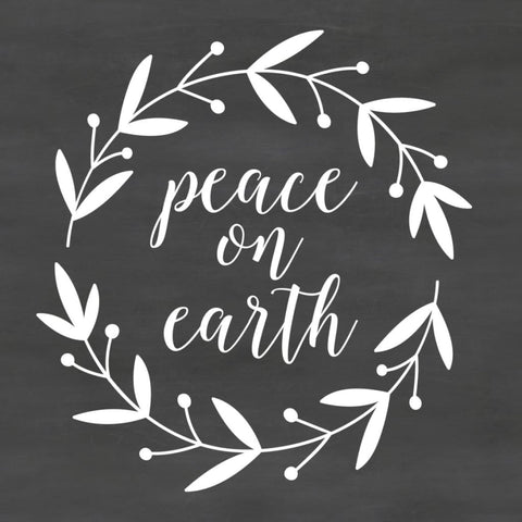 Christmas Saying Peace On Earth Db416