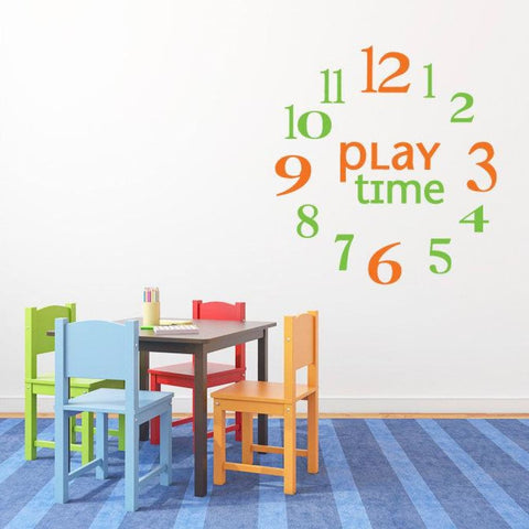Clock Numbers Wall Decals Db175