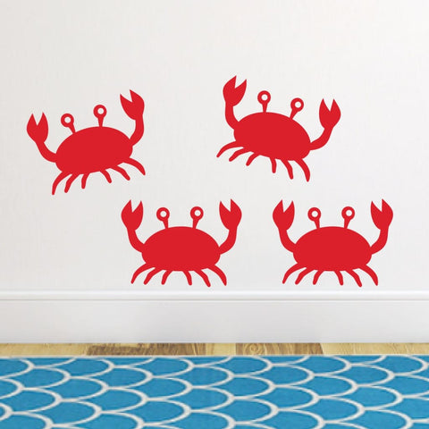 Crab Wall Sticker Decals Db228