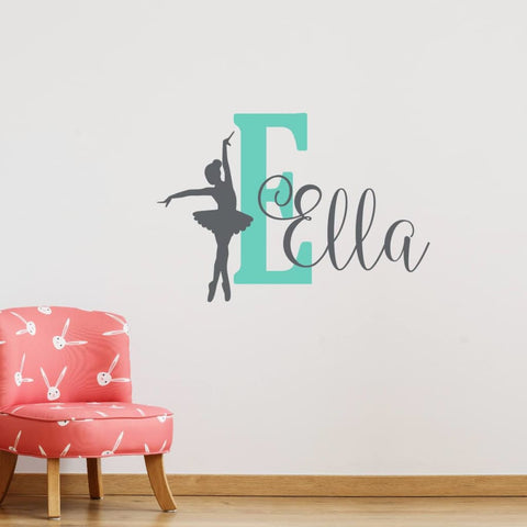 Dance Wall Decal Name 452