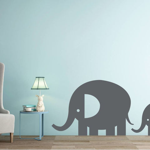 Elephant Wall Decal 234