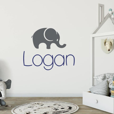Elephant Wall Decal 303