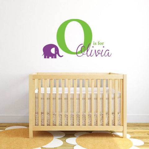 Elephant Wall Decal Db138