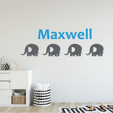 Elephant Wall Decals Db247