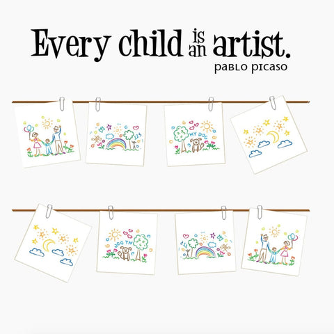 Every Child Is An Artist Wall Decal Db404
