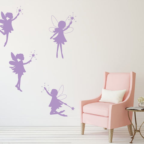 Fairy Wall Decals For Kids Db219