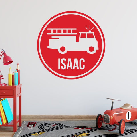 Firefighter Wall Decal Db143