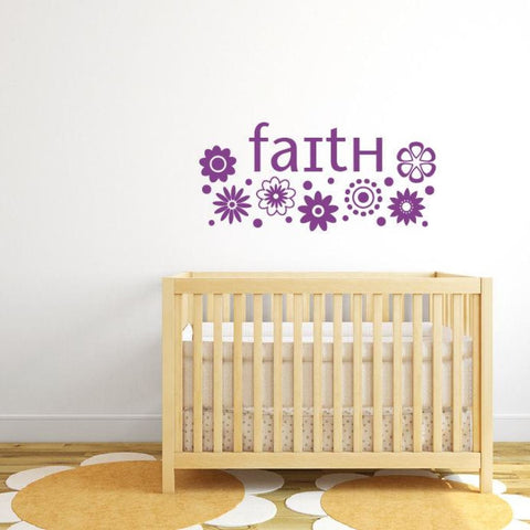 Flower Wall Decals Db213