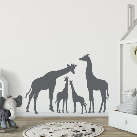 Giraffe Wall Decal B263