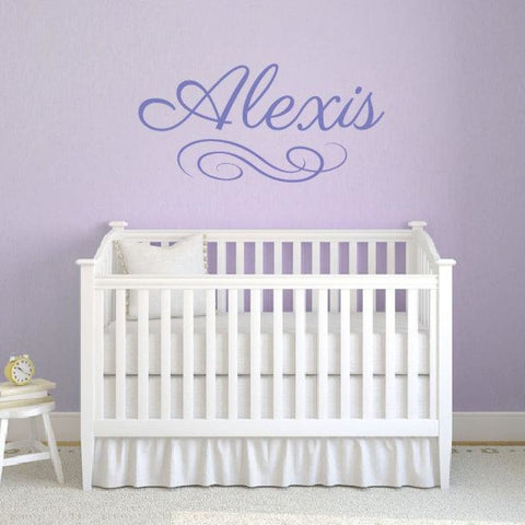 Girl Name Wall Decals Db369