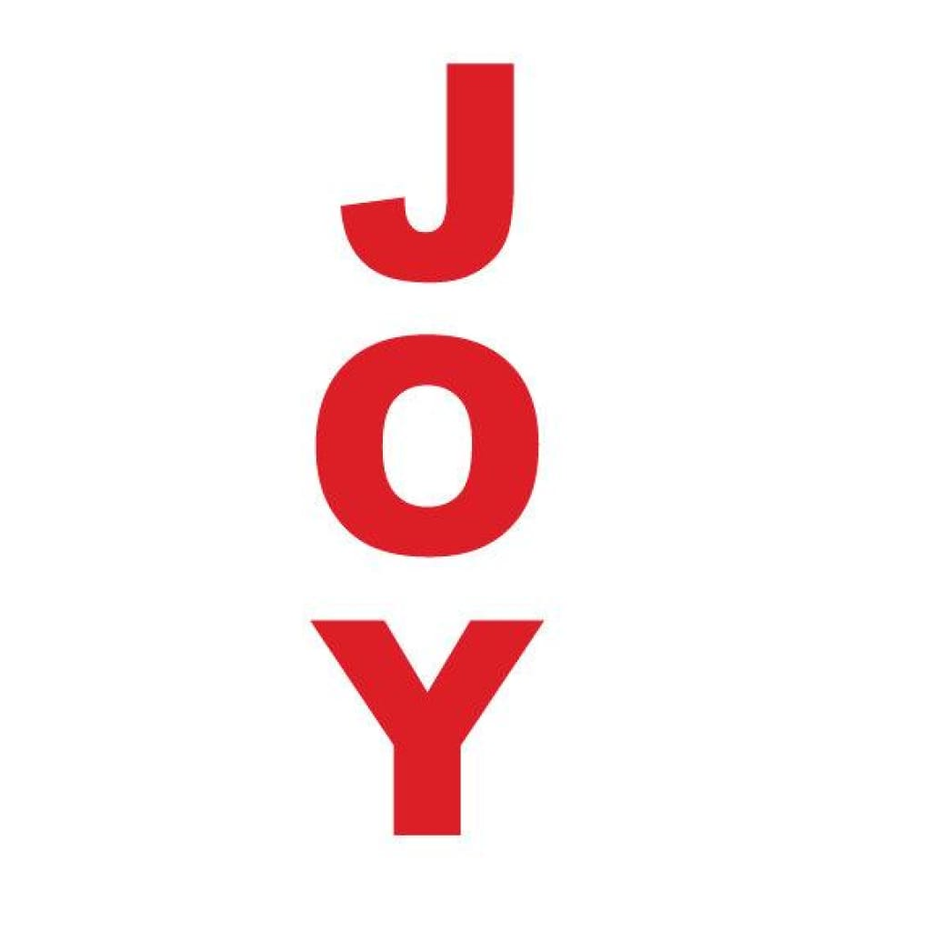 Large Joy Letters Db359