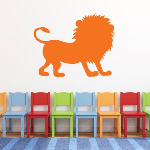 Lion Vinyl Wall Decal Safari Animal Db121