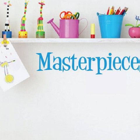 Masterpieces Wall Decal Db324