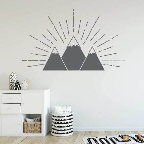 Mountain Wall Decal R120