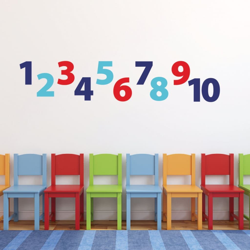 Number Wall Decals For Kids Db409