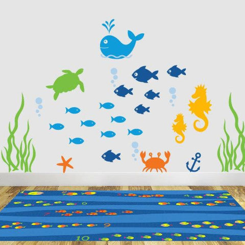 Ocean Nursery Wall Decals Db207