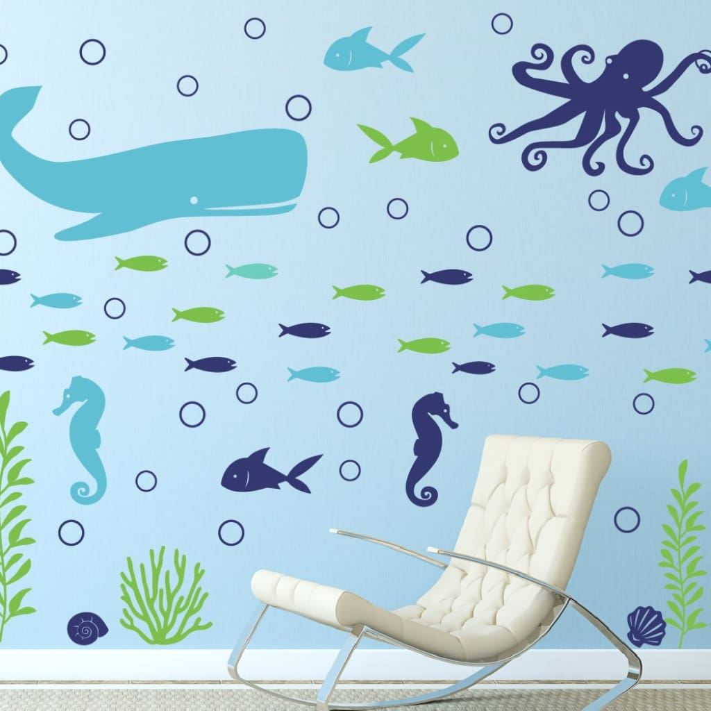 Ocean Wall Decal Db441