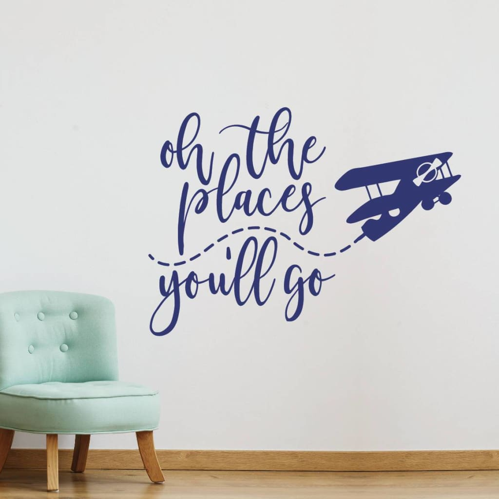 Oh The Places Youll Go Wall Art Rb116